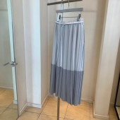 2020春夏新商品 Blanc Vert ティアード・プリーツスカート