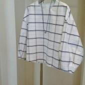 blanc vert  シャツ(ネッレス付き)