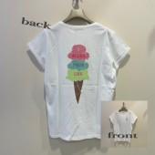 2021春夏新商品 MARELLA BACKプリント・Tシャツ