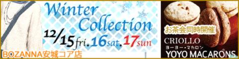 ぼざんな安城~WinterCollection & お茶会