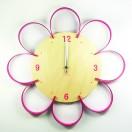 FLOWER CLOCK 壁時計
