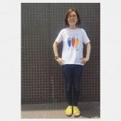 chi-bee イラストレーションTシャツ